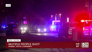 Multiple people shot near University Drive and 24th Street