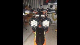 KTM 1290 SUPER ENDURO NIGHT RIDE