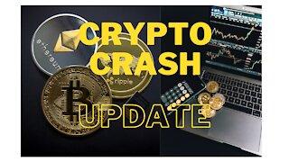 WATCH: CRYPTO CRASH UPDATE
