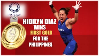 Tokyo 2021 Olympics: Philippines Wins Gold for Weightlifting