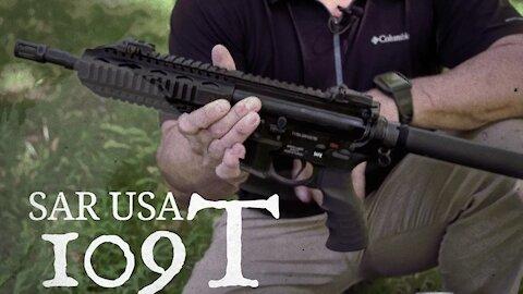 SAR 109T Tactical Pistol Introduction