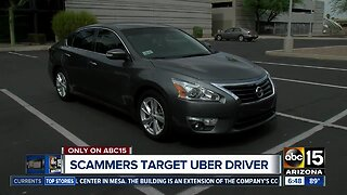 Scammers targeting Uber drivers