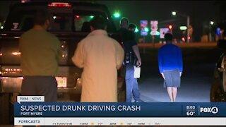 FMPD investigates suspected drunk driving crash