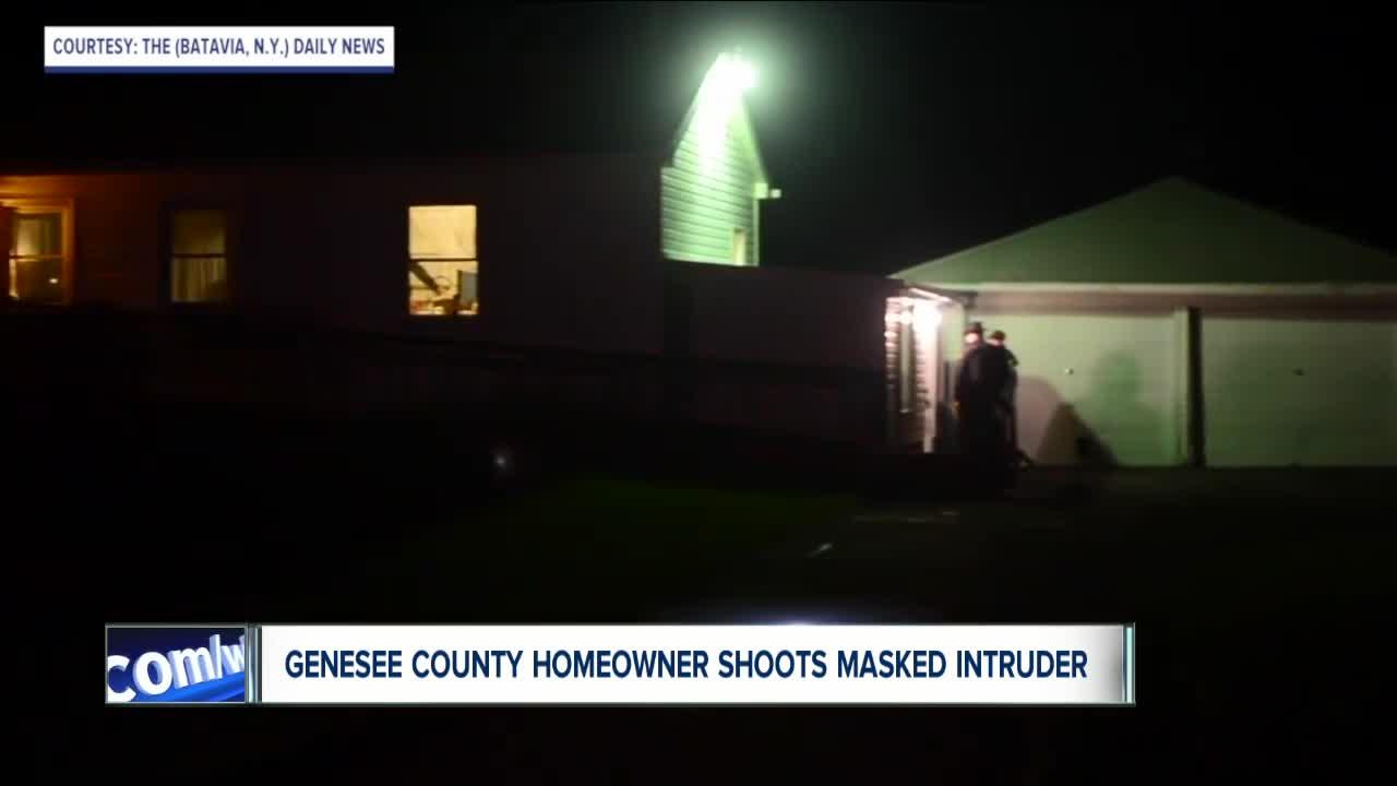 Homeowner shoots intruder during alleged home invasion