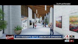 JoCo residents battle Arboretum expansion