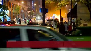 Protests in Grand Rapids turn violent with fires