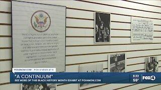 """A Continuum"" Black History Month exhibit"