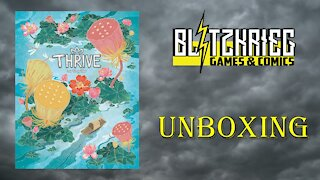 Thrive Board Game Unboxing