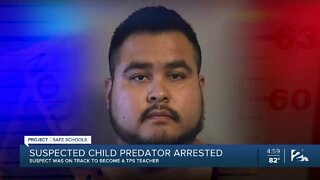 Suspected child predator arrested