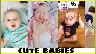 Little baby falling asleep moment video | cutest baby funny video.