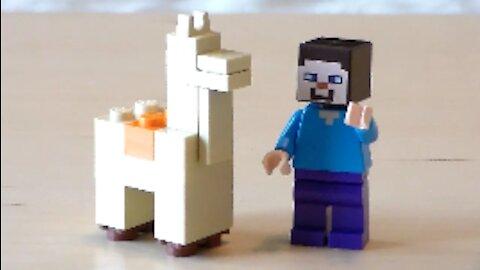 Lego Minecraft Llama Tutorial