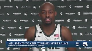 Michigan State continues to face tough schedule