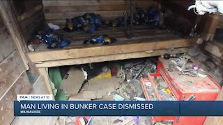 Charges dropped against Milwaukee man who lived in bunker with weapons stash