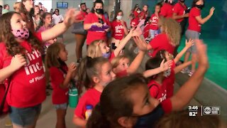 Girls Inc. of Pinellas exploring marine life as well as future careers