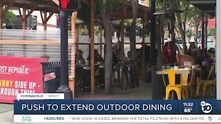County, city push to extend outdoor dining