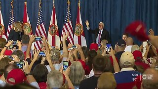 """Vice President Pence stops in Tampa for """"Make America Great Again"""" rally"""