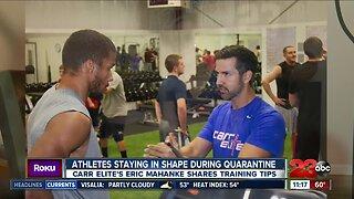 Local trainer shares advice on staying in shape during Coronavirus quarantine