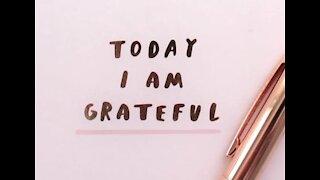 I am Grateful 5 minute message