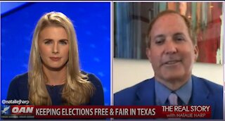The Real Story - OAN Texas Going Blue? with Ken Paxton