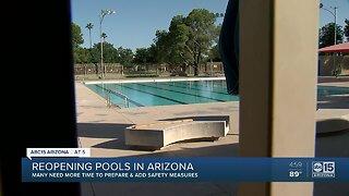 Reopening pools in Arizona