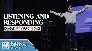 Listening and Responding — God Bless America