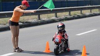 4-Year-Old Has Insane Motorcycle Skills