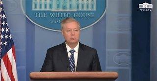 Lindsey Graham praises Trump for crushing ISIS and Baghdadi killing