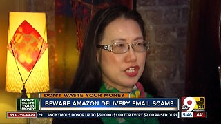 Beware fake Amazon delivery emails