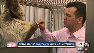 Cold temperatures, snow up north bring concerns to the metro