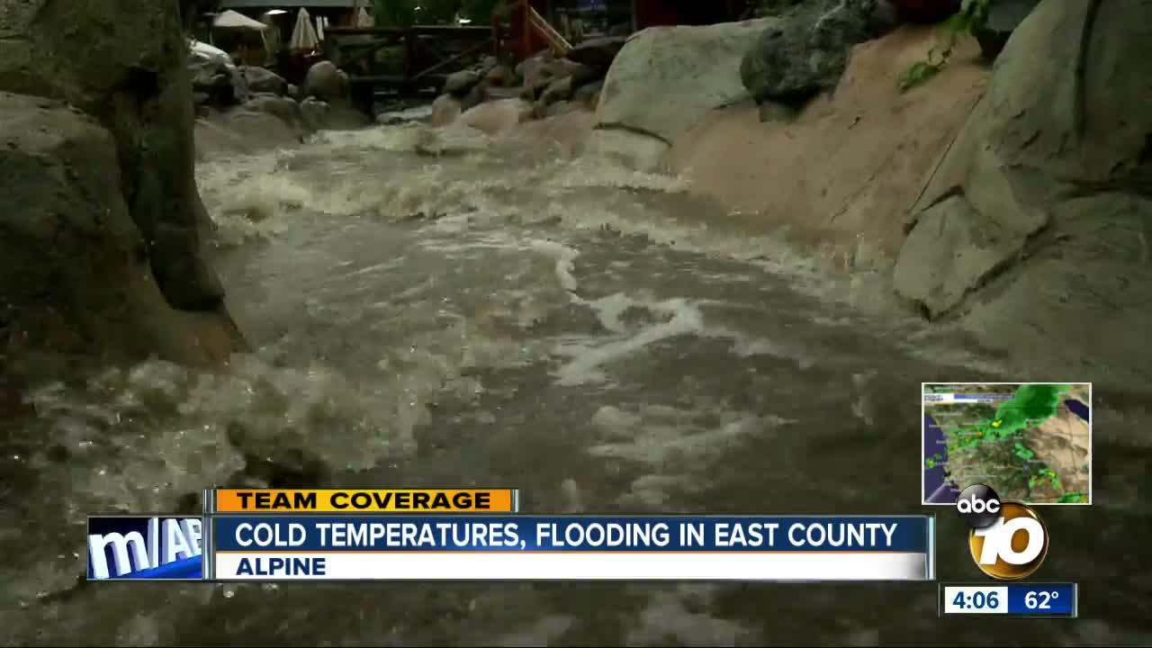 Flooding a concern in East County