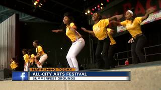 Milwaukee Public Schools hosts arts festival