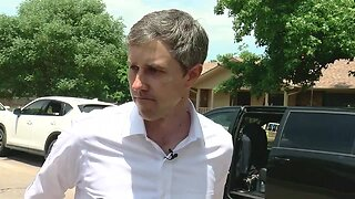 Beto O'Rourke in Green Country