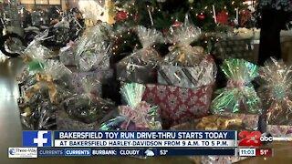 Bakersfield Toy Run Drive Thru begins Friday