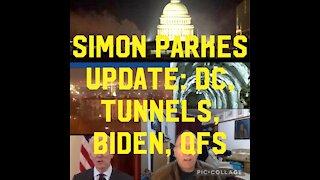 SIMON PARKES UPDATE: DC FIRES, BIDEN, TUNNELS, QFS