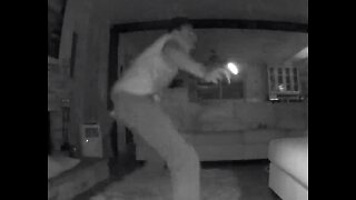 Caught on video: surprise cuts Spring Valley burglary short