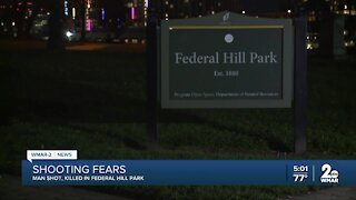 Federal Hill Park murder under investigation along with two other shootings