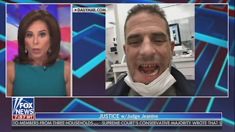 Judge Jeanine TEARS Into Hunter Biden and Corrupt Press for Making Him a Victim