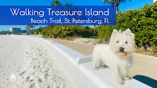 Walking Treasure Island Beach Trail