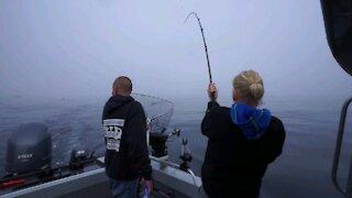 Salmon Fishing at Sekiu, Washington