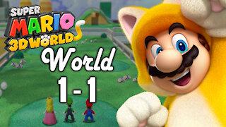 Super Mario 3D World - World 1 - 1