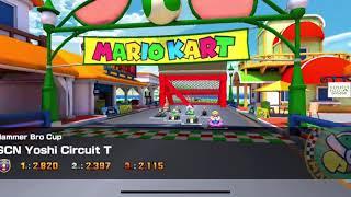 Mario Kart Tour - Yoshi Circuit T Gameplay