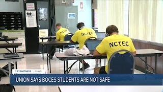 Union claims Orleans Niagara BOCES reopen plan is not protecting students & teachers