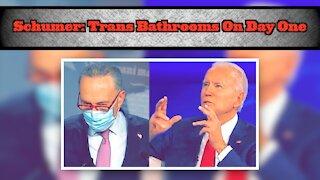 Schumer Backs Biden Over Trans Bathrooms