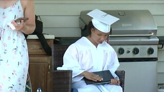 A special graduation in North Tonawanda