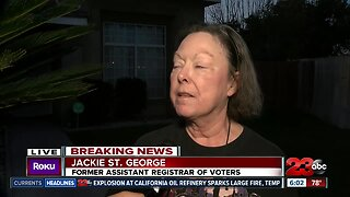 Former Assistant Registrar of Voters says she didn't retire, she was ousted