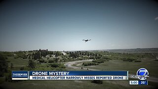 """Drone's close call with Colorado medical helicopter """"extremely concerning"""""""