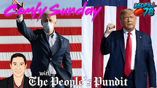 The People's Pundit, Rich Baris on Comfy Sunday