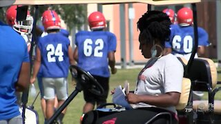 Palm Beach Gardens football being held together by a mothers touch