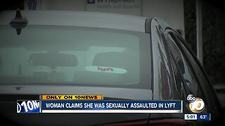Woman claims she was sexually assaulted in Lyft