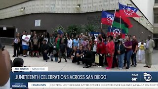 Juneteenth celebrations across San Diego